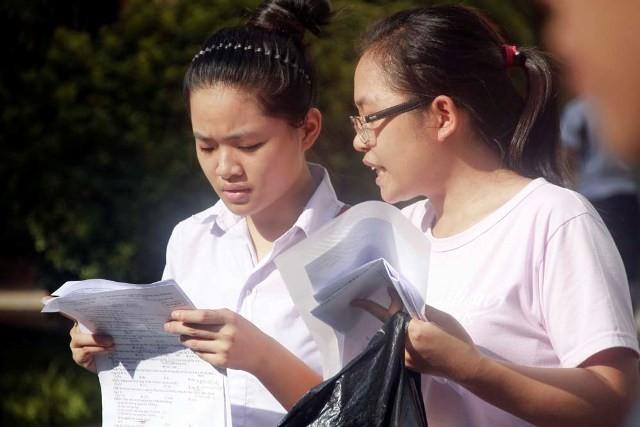 14 giờ 30 chiều nay, Bộ GD-ĐT công bố điểm thi
