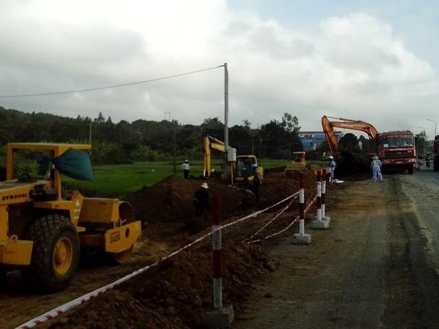 Thay nhà thầu thi công mở rộng quốc lộ 1 qua Phú Yên