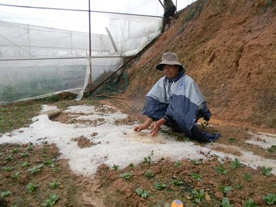 Mưa đá thường xảy ra vào đầu mùa mưa ở khu vực Tây Nguyên