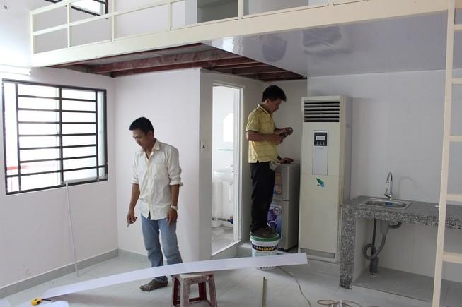 Xây nhà sáu tầng cho thí sinh ở miễn phí