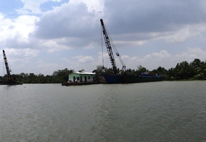 Cát tặc làm thay đổi cả thủy lực sông Sài Gòn