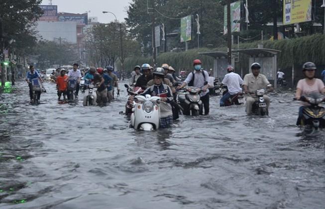 Sài Gòn sắp ngập nhiều nơi do van ngăn triều bị mất