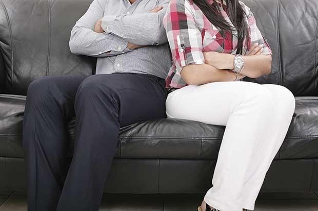 Vợ chồng cãi lộn cũng là nguyên nhân gây tăng cân