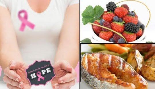 Để ngừa ung thư vú,  hãy ăn 6 loại thực phẩm này