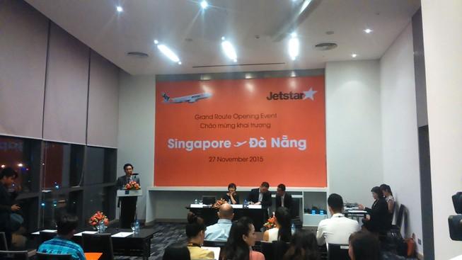 Mở đường bay giá rẻ đầu tiên từ Đà Nẵng - Singapore
