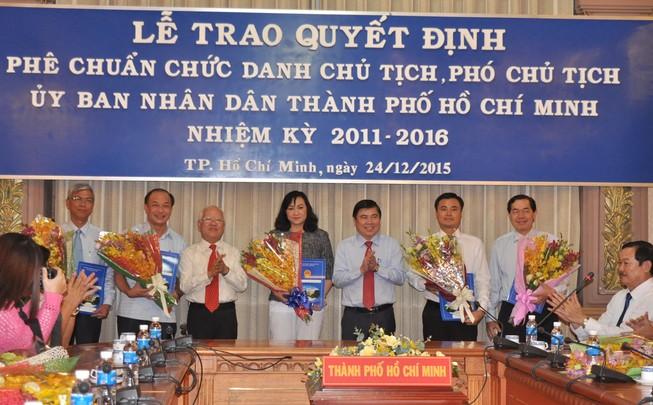 Phó Thủ tướng trao quyết định phê chuẩn nhân sự mới tại TP.HCM