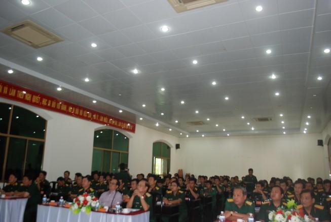 Bộ Tư lệnh TP.HCM giới thiệu người ứng cử đại biểu Quốc hội