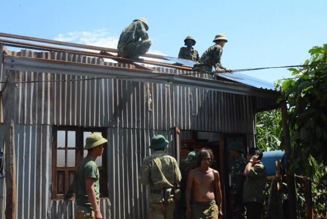 Chính quyền hỗ trợ người dân Gia Lai bị thiệt hại do lốc xoáy