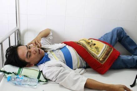 Bệnh nhân 'tố' bị bảo vệ bệnh viện đánh, chích điện