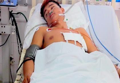 Cứu sống một nam thanh niên bị thủng tim