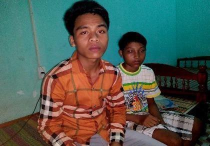 2 thiếu niên trốn khỏi bãi vàng vì lao động quá nặng nhọc