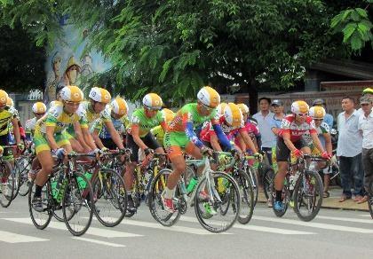 Khai mạc giải xe đạp đồng bằng sông Cửu Long lần thứ 25