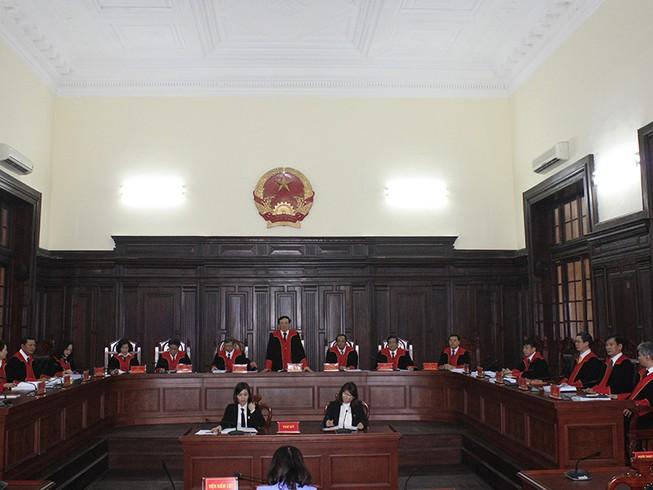 Triển khai thí điểm trang phục xét xử của thẩm phán