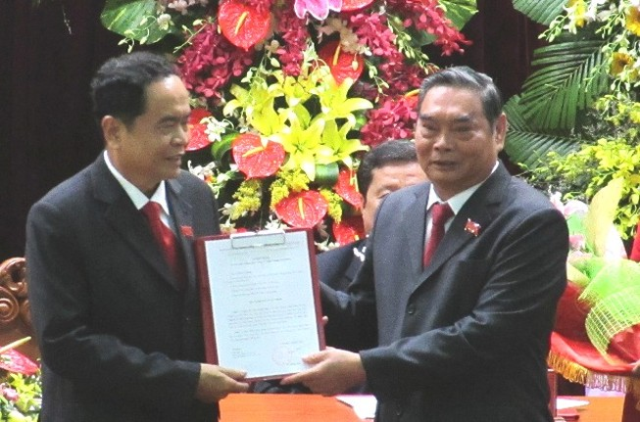 Ông Trần Thanh Mẫn thôi giữ chức Bí thư Thành ủy Cần Thơ
