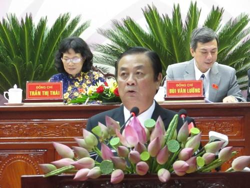 Ông Lê Minh Hoan tái đắc cử bí thư tỉnh Đồng Tháp