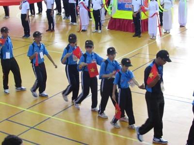 Gần 600 học sinh khuyết tật toàn quốc thi thể thao