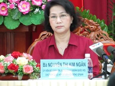Chủ tịch Quốc hội nói về trường hợp ông Võ Kim Cự