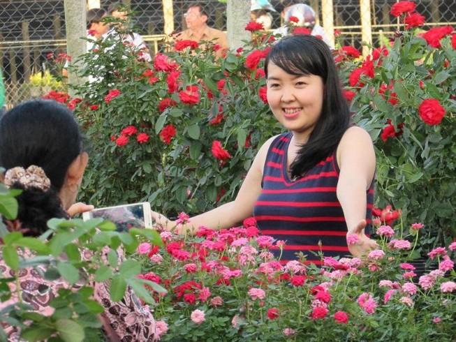 Hàng ngàn người về Sa Đéc ngắm hoa