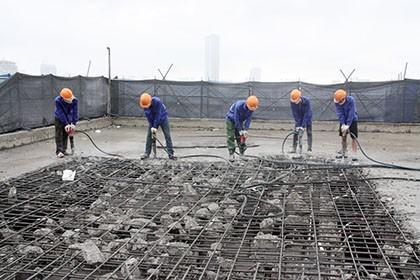 Tòa nhà 8B Lê Trực: 1 tháng nữa sẽ 'cắt ngọn' xong tầng 19