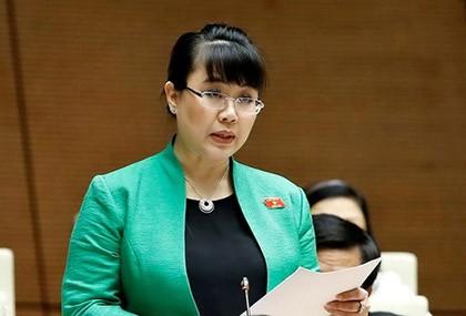 HĐND TP Hà Nội bãi nhiệm tư cách đại biểu của bà Nguyệt Hường