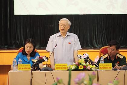 Tổng Bí thư: Sẽ xem xét trách nhiệm cá nhân, tập thể để xảy ra vụ Formosa