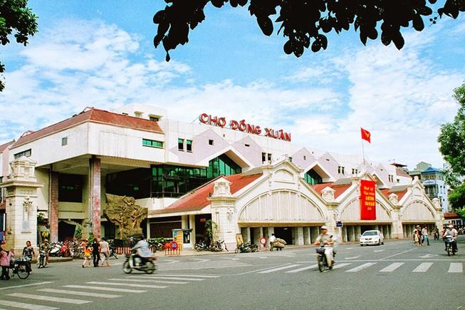 Quận Hoàn Kiếm đề xuất xây mới chợ Đồng Xuân