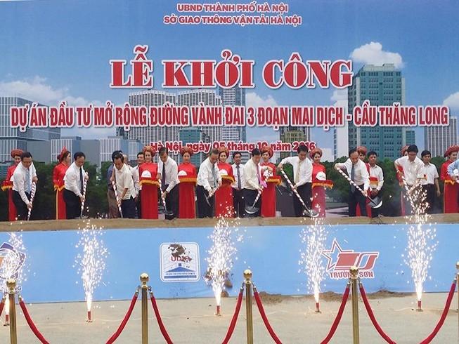 Hơn 3.000 tỉ mở rộng đường Mai Dịch - cầu Thăng Long