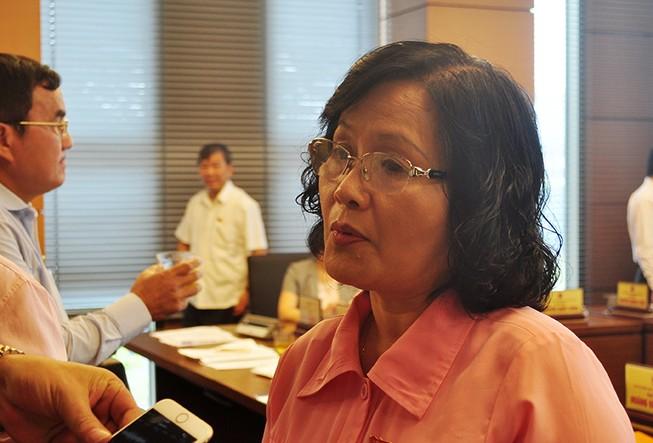 ĐBQH Trần Thị Quốc Khánh: Tôi nói không với thép Cà Ná!