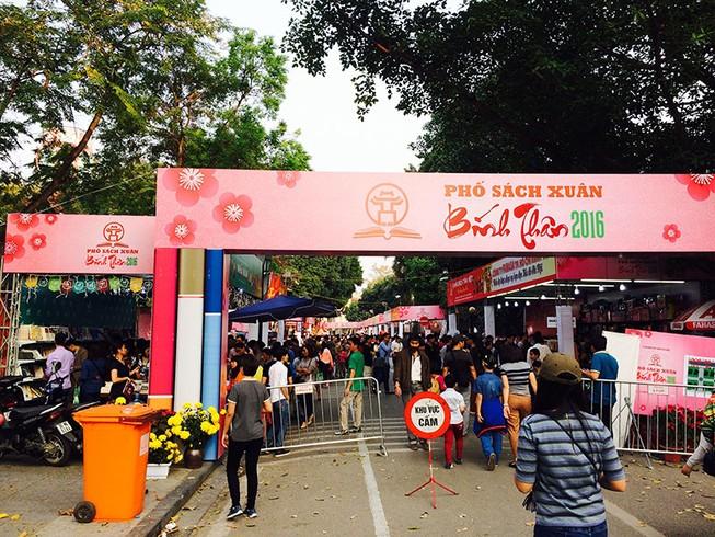 Hà Nội tổ chức phố sách Xuân từ mùng 3 đến mùng 9 Tết
