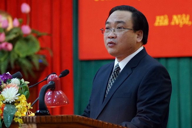 Bí thư TP Hà Nội nghe CLB Thăng Long góp ý