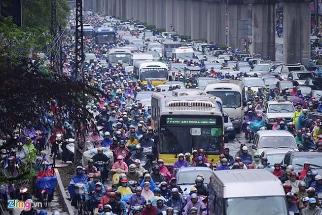 100.000 USD trao giải ý tưởng chống ùn tắc ở Hà Nội