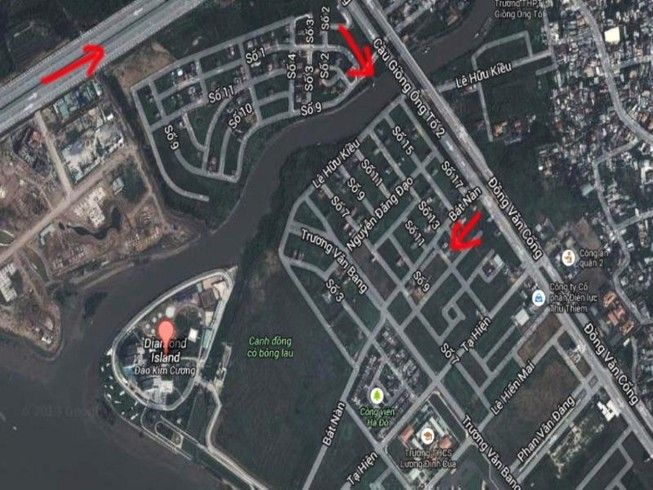 TP.HCM: Đề xuất xây cầu qua đảo Kim Cương