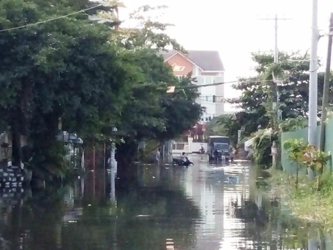 Khu Nam Long, Sài Gòn bất ngờ ngập nặng