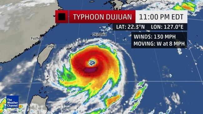 Nhiều chuyến bay đi Đài Loan bị hủy do bão