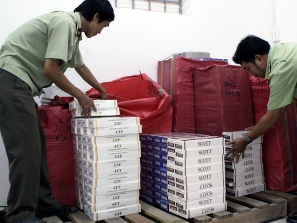 Phát hiện tạm giữ gần 40.000 bao thuốc lá lậu