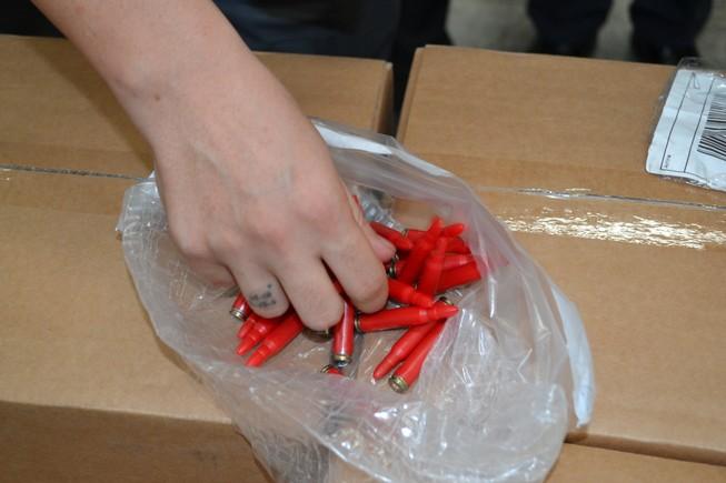Sung công quỹ 144.000 viên đạn nhập khẩu trái phép