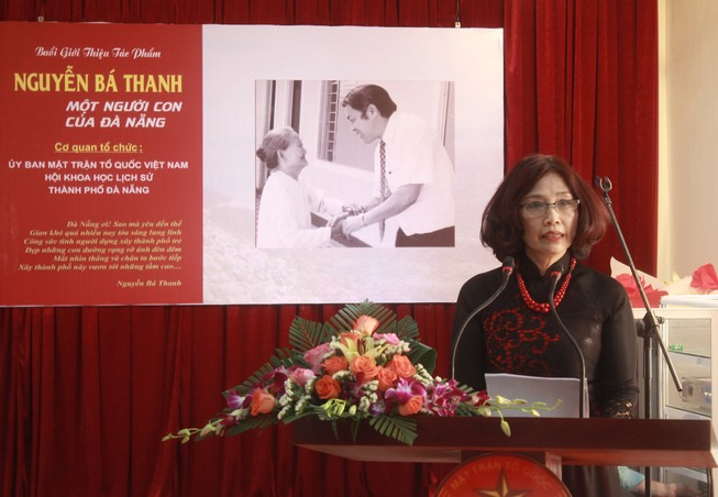 Ra mắt sách về cố Bí thư Thành ủy Đà Nẵng Nguyễn Bá Thanh