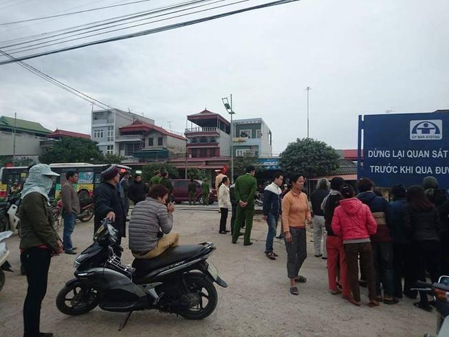 Thai phụ chở mẹ chồng bị tàu lửa cán tử vong