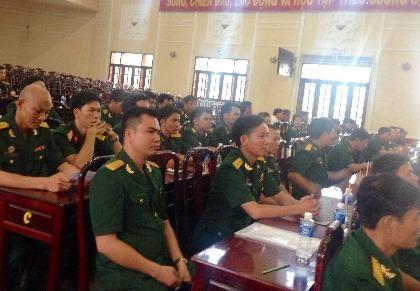Quân đoàn 4 kỷ niệm 70 năm thành lập ngành tuyên huấn quân đội
