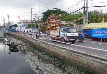 18 tỉ đồng kè bờ bến Bình Đông trước chùa Long Hoa