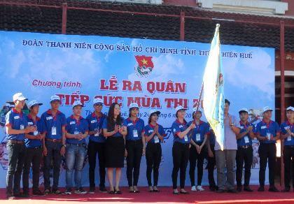 Gần 2.000 tình nguyện viên Huế sẵn sàng 'Tiếp sức mùa thi'