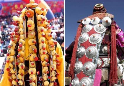 Những trang phục cưới truyền thống kỳ lạ trên thế giới