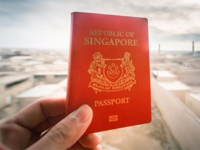 Kết quả hình ảnh cho hộ chiếu singapore