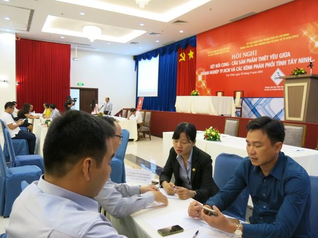 Doanh nghiệp TP.HCM ký kết hợp tác với Tây Ninh