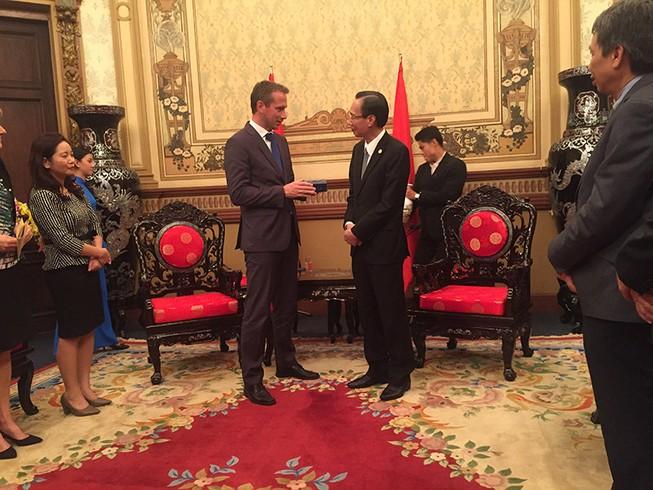Bộ trưởng ngoại giao Đan Mạch thăm TP.HCM