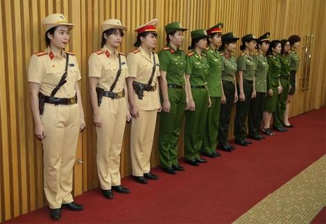 Trang phục mới của lực lượng công an nhân dân có điểm gì khác?