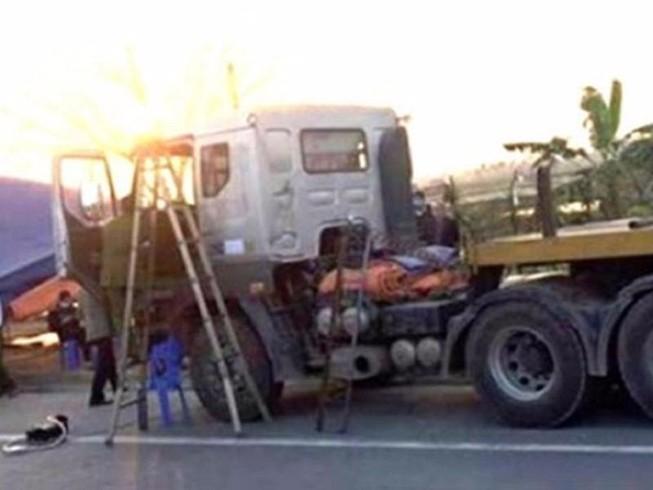 Giết tài xế cướp 34 tấn thép trên xe đầu kéo