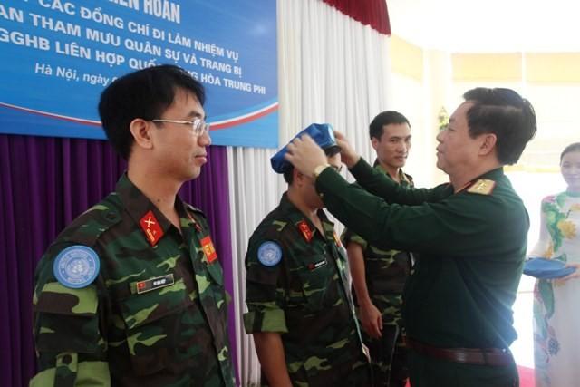 Việt Nam đưa thêm sĩ quan quân đội tới châu Phi