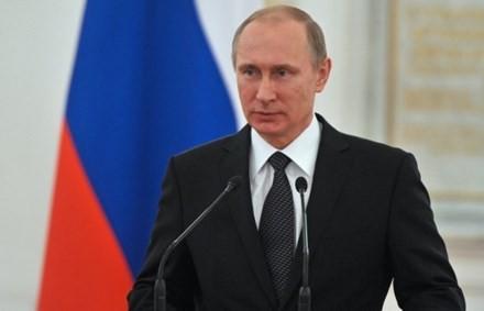 Ông Putin là 'nhân vật quyền lực' thứ 2 thế giới