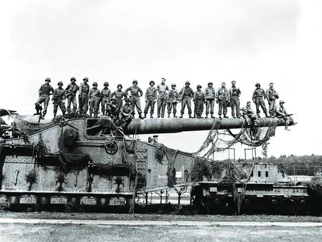 Đại pháo khổng lồ của Phát xít Đức rung chuyển Liên Xô một thời